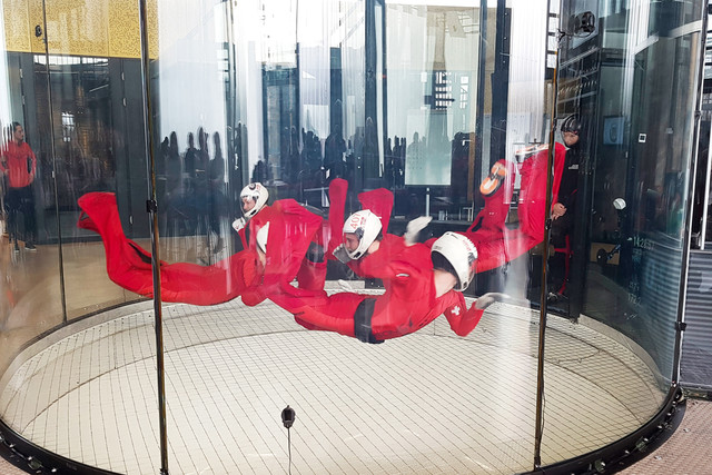 Indoor Skydiving Disziplin Relative Work
