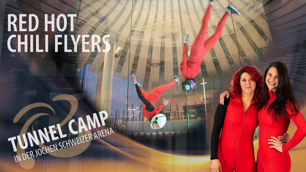 Tunnelcamp Red hot chili flyers