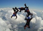 Skydiving Formation Relativ Work